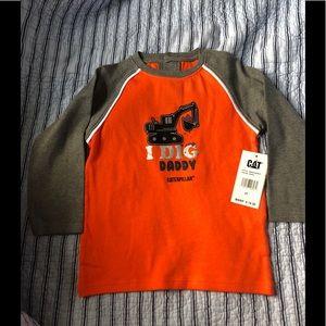 Brand new Caterpillar t-shirt for boy size4T